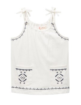Among The Leaves Tank Top (Big Girls) by Roxy
