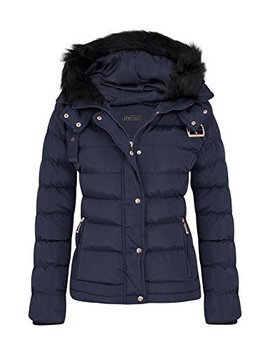 She Likes Womens Quilted Winter Padded Coat Uk 8 16 by She Likes