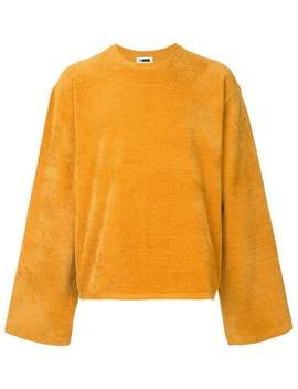 H Beauty&Youthwide Sleeve Sweaterhome Men H Beauty&Youth Clothing Sweatshirts by H Beauty&Youth