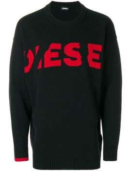 Diesel K Logox Sweaterhome Men Diesel Clothing Jumpers D Jifer Z Jeans K Logox Sweater by Diesel