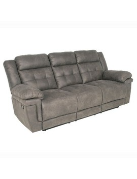 Anastasia Recliner Sofa Gray   Steve Silver by Shop All Steve Silver Co.