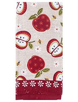 Kay Dee Designs R6240 An Apple A Day Terry Towel by Kay Dee