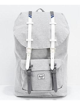 Herschel Supply Co. Little America Light Grey & White Backpack by Herschel Supply