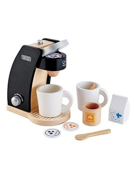 Hape Coffee Time For Two Wooden Coffee Maker Play Kitchen Set by Hape