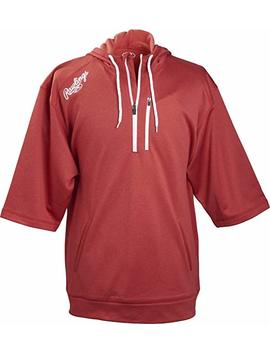 Rawlings Men's Half Sleeve Performance Hoodie by Rawlings