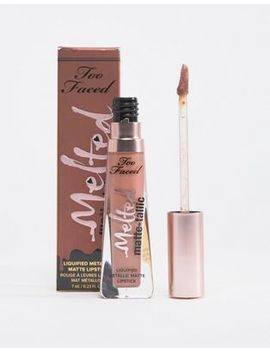 Too Faced Melted Matte Tallics Lipstick   Faking It by Too Faced
