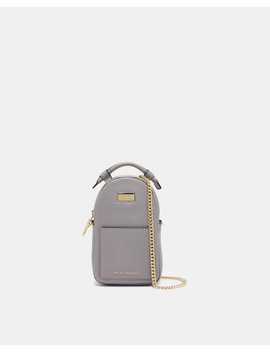 Small Leather Cross Body Bag by Ted Baker