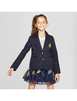 Girls' Harry Potter Crest Blazer   Navy by Shop All Warner Brothers