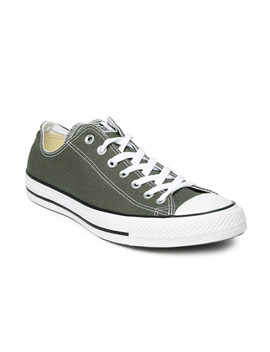 Converse Unisex Charcoal Grey Sneakers by Converse