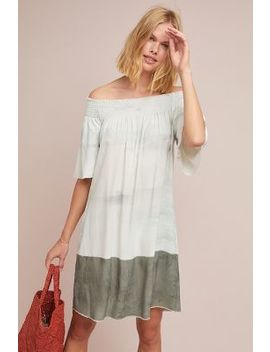 Dip Dyed Silk Swing Dress by Go By Go Silk