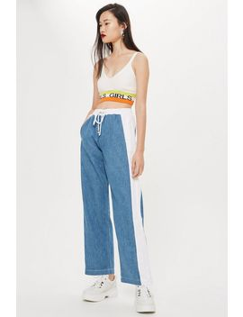 Colour Block Lightweight Jeans by Topshop