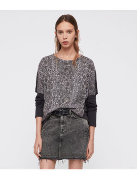 Kaa Wave T Shirt by Allsaints