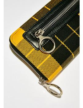 Pay To Play Plaid Wallet by Current Mood