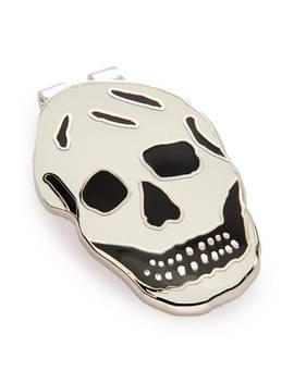 Skull Money Clip by Alexander Mcqueen