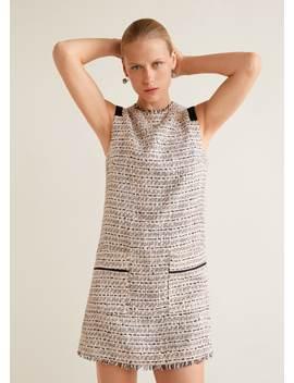 Φόρεμα Tweed by Mango