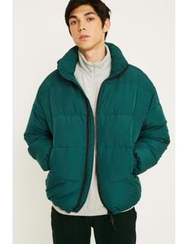 Uo Green Puffer Jacket by Urban Outfitters
