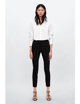 Jogger Waist Trousers  Smart Trousers Woman by Zara