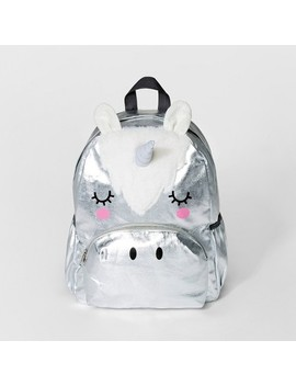 Girls' Unicorn Backpack   Cat & Jack™ Silver by Shop All Cat & Jack™