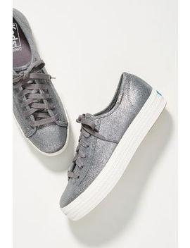 Keds Triple Kick Glitter Sneakers by Keds