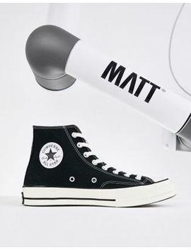 Converse – Chuck Taylor All Star '70 – Knöchelhohe Sneaker In Schwarz, 162050 C by Converse