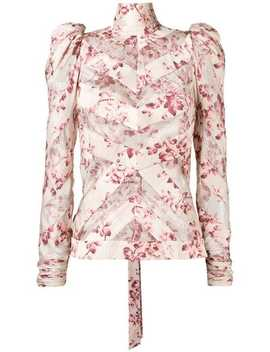 Floral Print Blouse by Zimmermann