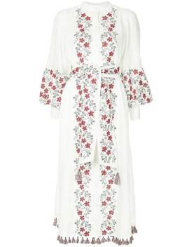 floral-embroidery-shirt-dress by zimmermann