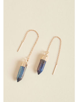 Jewels Of The Trade Threader Earrings by Modcloth