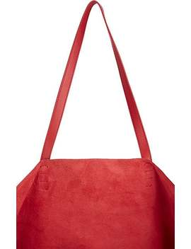 Oversized Leather Tote Bag by Mansur Gavriel