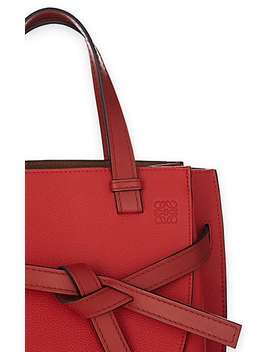 Gate Small Leather Satchel by Loewe