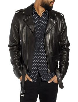 Leather Moto Jacket by The Kooples