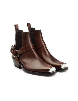 Boots Aus Leder by Calvin Klein 205 W39 Nyc