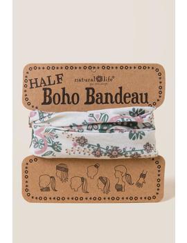 Boho Bandeau In Blush Olive Mandala by Francesca's