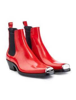 Chelsea Boots Aus Kalbsleder by Calvin Klein 205 W39 Nyc