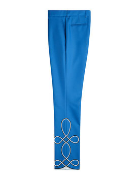 Cropped Pants Mit Stickerei by Calvin Klein 205 W39 Nyc