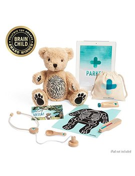Seedling Parker: Your Augmented Reality Bear For Toddlers Ages 3 6 Learning Kit by Seedling