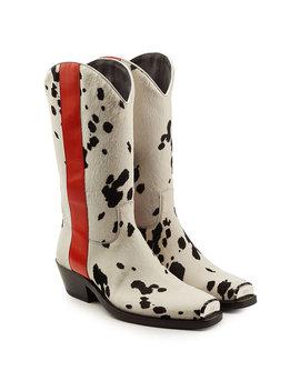 Cowboyboots Mit Kalbsfell by Calvin Klein 205 W39 Nyc