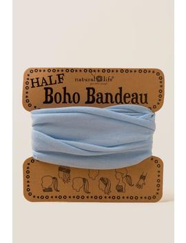 Boho Bandeau In Pale Blue by Francesca's