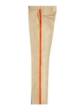 Straight Leg Pants Aus Baumwolle by Calvin Klein 205 W39 Nyc