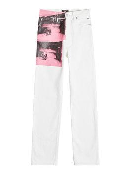 X Andy Warhol Bedruckte Jeans by Calvin Klein 205 W39 Nyc