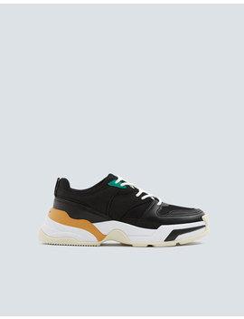 Schwarze Sneaker Mit Volumensohle by Pull & Bear