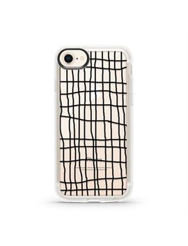 Casetify Case For I Phone 7 S/7/6 S  Hand Drawn Grid Lines by Casetify