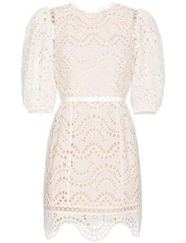 Zimmermann Jaya Wave Cotton Dresshome Women Zimmermann Clothing Cocktail & Party Dresses by Zimmermann