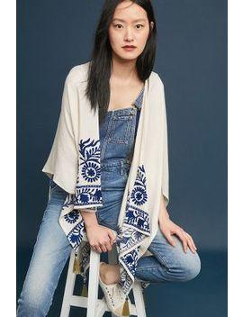 Set Sails Kimono by Elizabeth Gillett