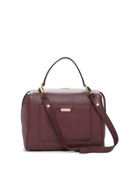 Astor Large Leather Satchel by Milly