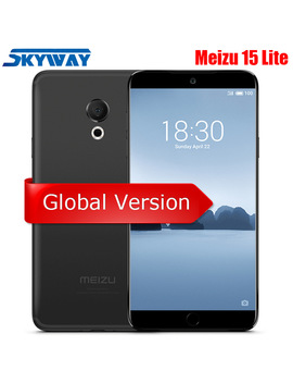 "Original Meizu 15 Lite M15 4 G Lte 4 Gb 32 Gb Snapdragon 626 Octa Core 5.46"" 1920x1080 P Screen Fingerprint Fast Charger Cell Phone by Meizu"