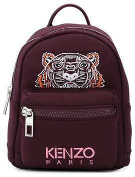 Kenzo Tiger Backpackhome Women Kenzo Bags Backpackslogo Patch Sweatshirt Tiger Backpack by Kenzo