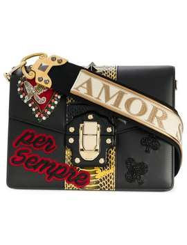 Lucia Sacred Heart Shoulder Bag by Dolce & Gabbana