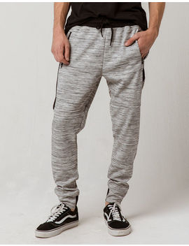 Brooklyn Cloth Light Grey Mens Jogger Pants by Brooklyn Cloth