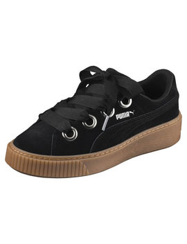 Platform Kiss Suede Women's Trainers by Puma