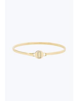 Double J Pave Hinge Cuff Bracelet by Marc Jacobs